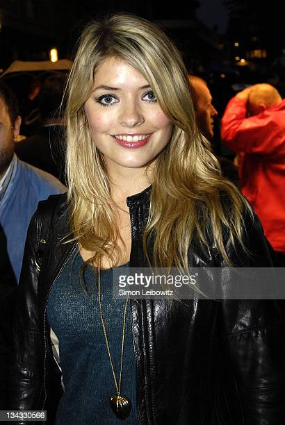Holly Willborghby during The Times BFI London Film festival : UK Premiere of Borat - Inside at Odeon West End in London, Great Britain.