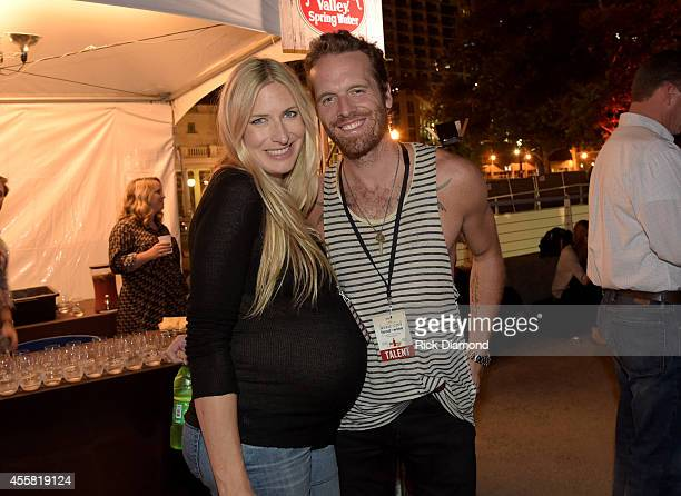 Holly Williams and Chris Coleman attend the Music City Food Wine Festival Harvest Night Presented By Infiniti on September 20 2014 in Nashville...