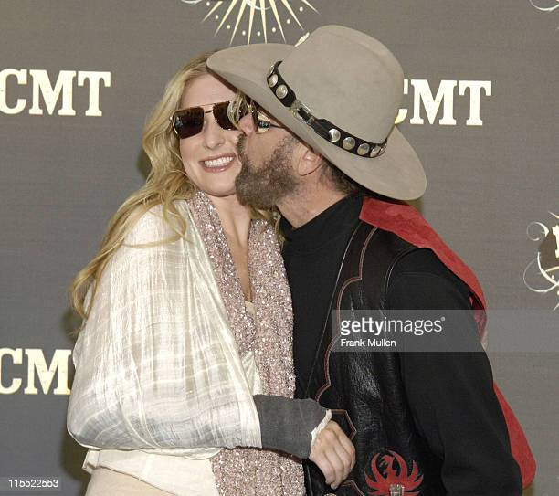 Holly Williams and Hank Williams, Jr. During 2006 CMT Music Awards - Arrivals at Curb Event Center at Belmont University in Nashville, Tennessee,...