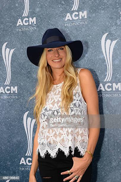 Holly Williams attends the 9th Annual ACM Honors at Ryman Auditorium on September 1 2015 in Nashville Tennessee