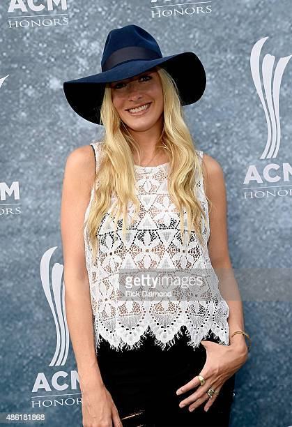 Holly Williams attends the 9th Annual ACM Honors at the Ryman Auditorium on September 1 2015 in Nashville Tennessee