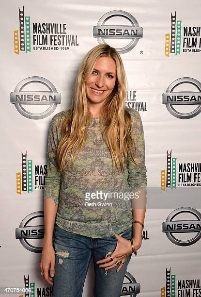 Holly Williams of the film Country Portraits of an American Sound attend the Nashville Film Festival at Green Hills Cinema on April 22 2015 in...