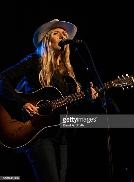 Holly Williams performs at WorkPlay on August 21 2014 in Birmingham Alabama