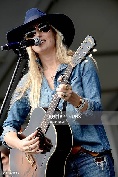 Holly Williams performs onstage during Pilgrimage Music Cultural Festival on September 26 2015 in Franklin Tennessee