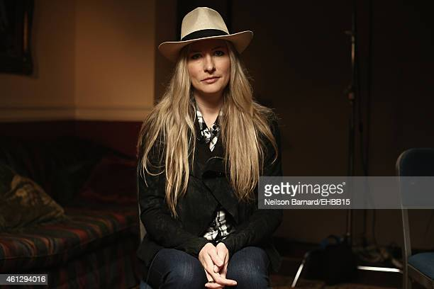Holly Williams poses for a photo backstage prior to The Life Songs of Emmylou Harris An All Star Concert Celebration at DAR Constitution Hall on...