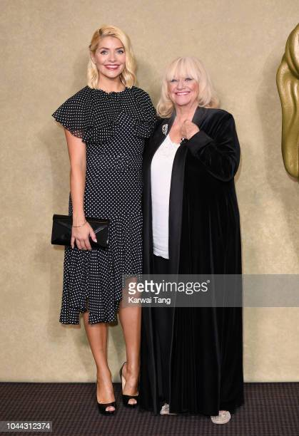 Holly Willoughby and Judy Finnigan attend a BAFTA tribute evening to long running TV show This Morning at BAFTA on October 1 2018 in London England