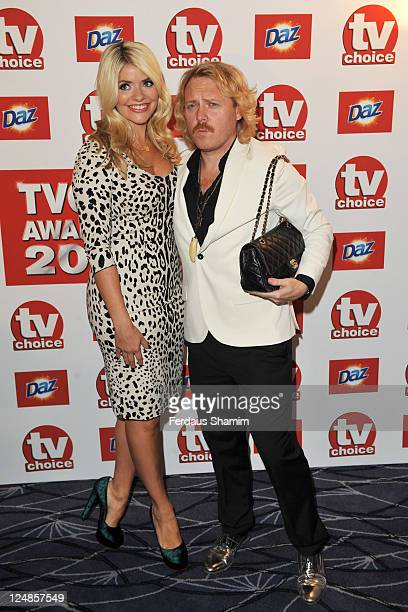 Holly Willoughby and Leigh Francis attends the The TVChoice Awards 2011 at The Savoy Hotel on September 13 2011 in London England