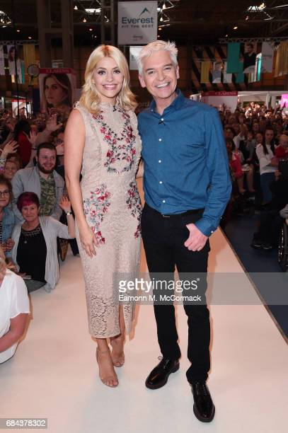 Holly Willoughby and Phillip Schofield during This Morning Live at NEC Arena on May 18 2017 in Birmingham England