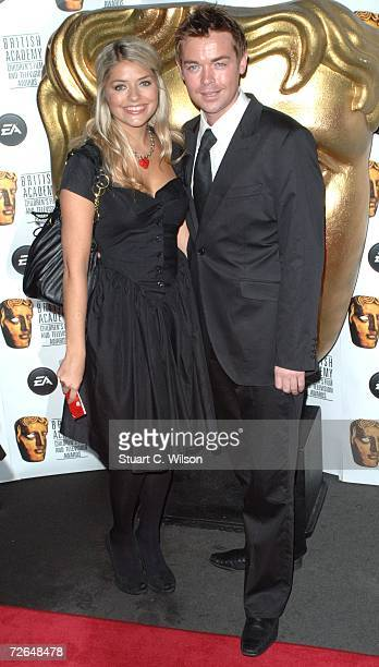 Holly Willoughby and Stephen Mulhern arrive for the British Academy Children's Film Television Awards 2006 at the Hilton Park Lane on November 26...
