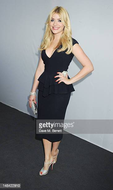 Holly Willoughby arrives at the Glamour Women of the Year Awards in association with Pandora at Berkeley Square Gardens on May 29 2012 in London...