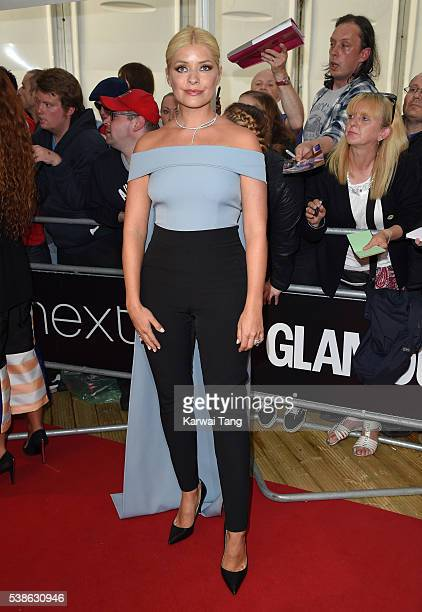 Holly Willoughby arrives for the Glamour Women Of The Year Awards in Berkeley Square Gardens on June 7 2016 in London United Kingdom