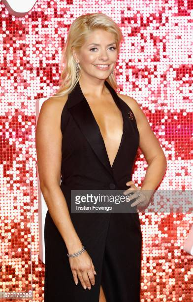 Holly Willoughby arriving at the ITV Gala held at the London Palladium on November 9 2017 in London England