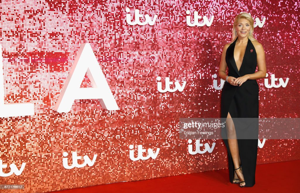 Holly Willoughby arriving at the ITV Gala held at the London Palladium on November 9, 2017 in London, England.