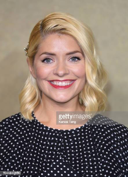 Holly Willoughby attends a BAFTA tribute evening to long running TV show This Morning at BAFTA on October 1 2018 in London England