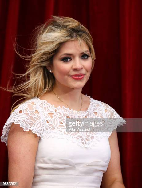 Holly Willoughby attends 'An Audience With Michael Buble' at The London Studios on May 3, 2010 in London, England.