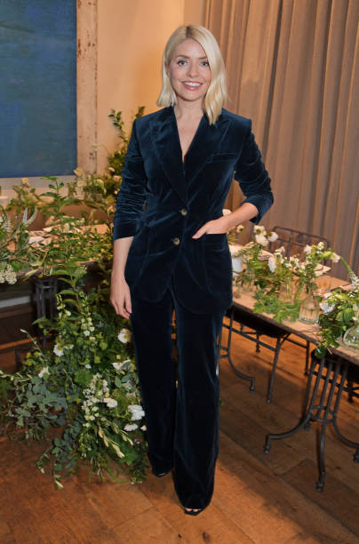 GBR: Holly Willoughby Celebrates The Launch Of Wylde Moon