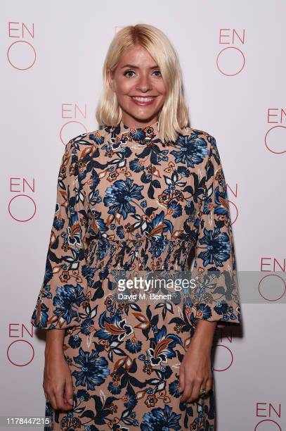 Holly Willoughby attends the English National Opera's opening night of the season featuring a performance of Orpheus and Eurydice at The London...