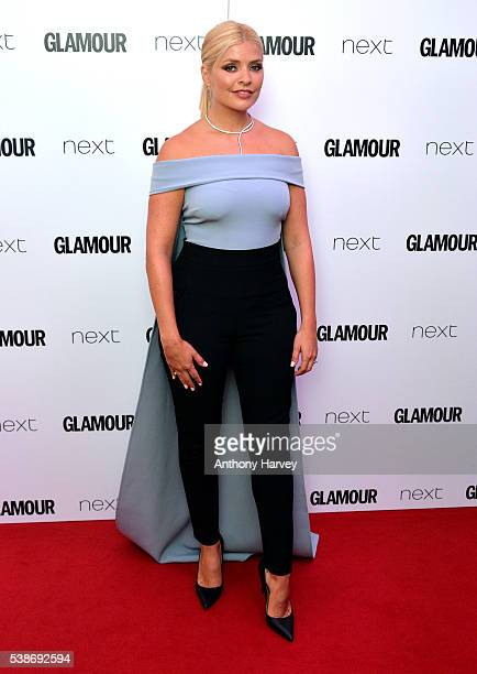 Holly Willoughby attends the Glamour Women Of The Year Awards at Berkeley Square Gardens on June 7 2016 in London England