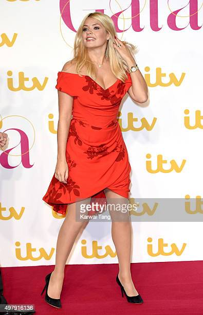 Holly Willoughby attends the ITV Gala at London Palladium on November 19 2015 in London England