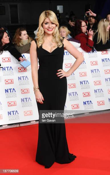 Holly Willoughby attends the National Television Awards 2012 at the 02 Arena on January 25, 2012 in London, England.