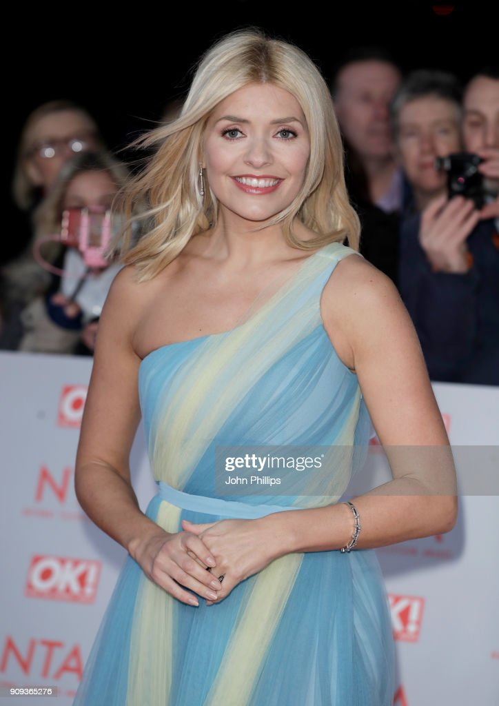 Holly Willoughby attends the National Television Awards 2018 at the O2 Arena on January 23, 2018 in London, England.