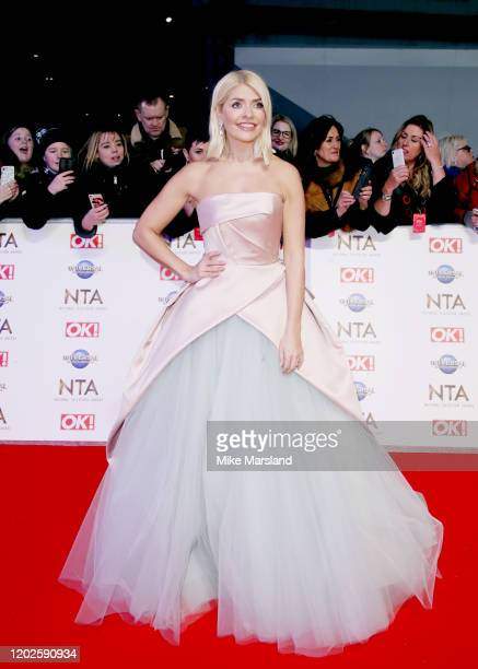 Holly Willoughby attends the National Television Awards 2020 at The O2 Arena on January 28, 2020 in London, England.