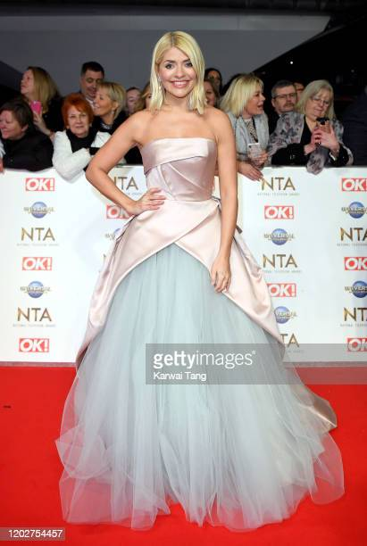 Holly Willoughby attends the National Television Awards 2020 at The O2 Arena on January 28 2020 in London England