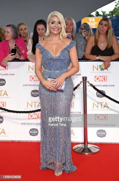 Holly Willoughby attends the National Television Awards 2021 at The O2 Arena on September 09, 2021 in London, England.