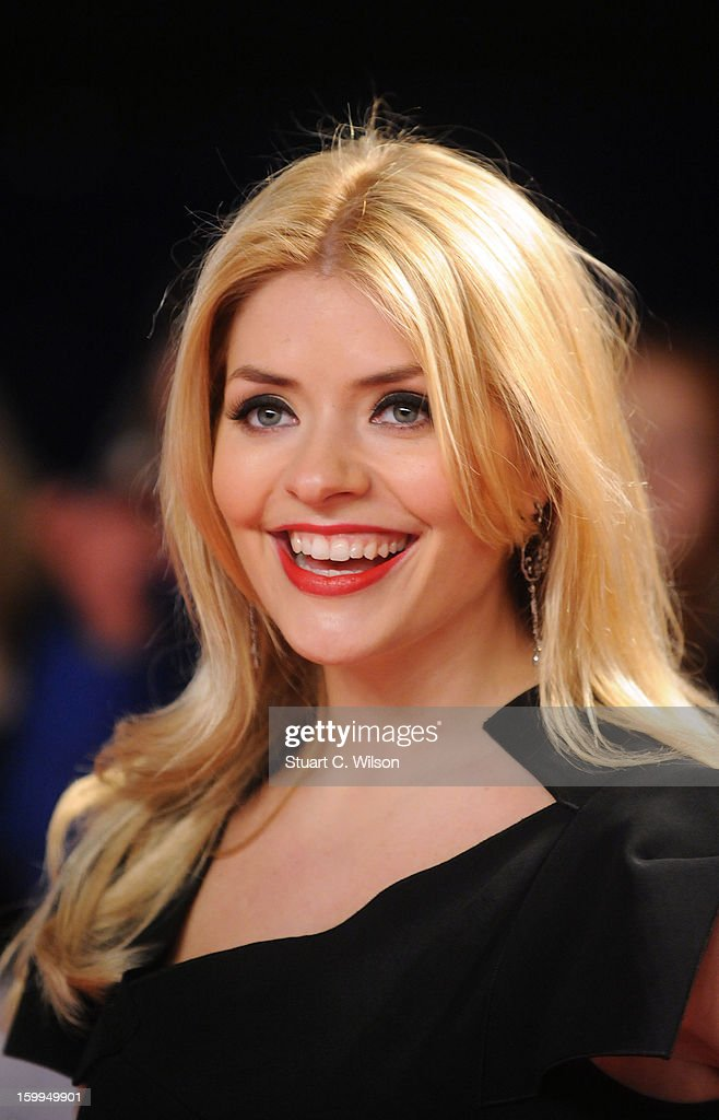 Holly Willoughby attends the National Television Awards at 02 Arena on January 23, 2013 in London, England.