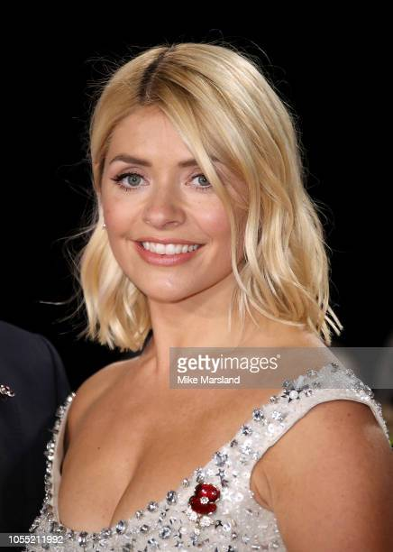 Holly Willoughby attends the Pride of Britain Awards 2018 at The Grosvenor House Hotel on October 29, 2018 in London, England.