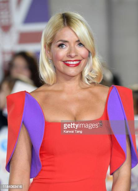 Holly Willoughby attends the Pride Of Britain Awards 2019 at The Grosvenor House Hotel on October 28, 2019 in London, England.