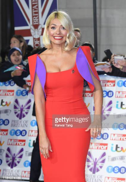Holly Willoughby attends the Pride Of Britain Awards 2019 at The Grosvenor House Hotel on October 28 2019 in London England
