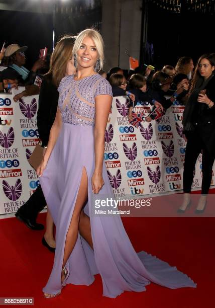Holly Willoughby attends the Pride Of Britain Awards at Grosvenor House on October 30 2017 in London England