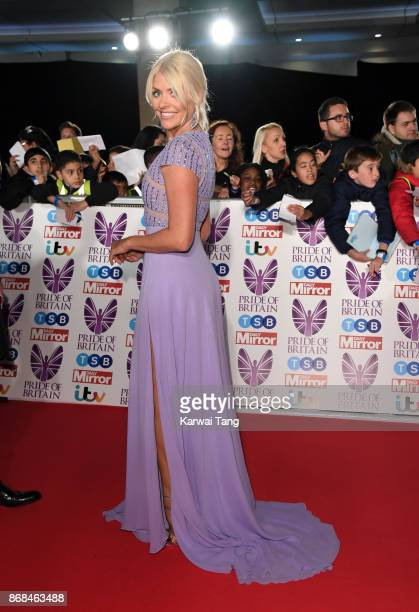 Holly Willoughby attends the Pride Of Britain Awards at the Grosvenor House on October 30 2017 in London England