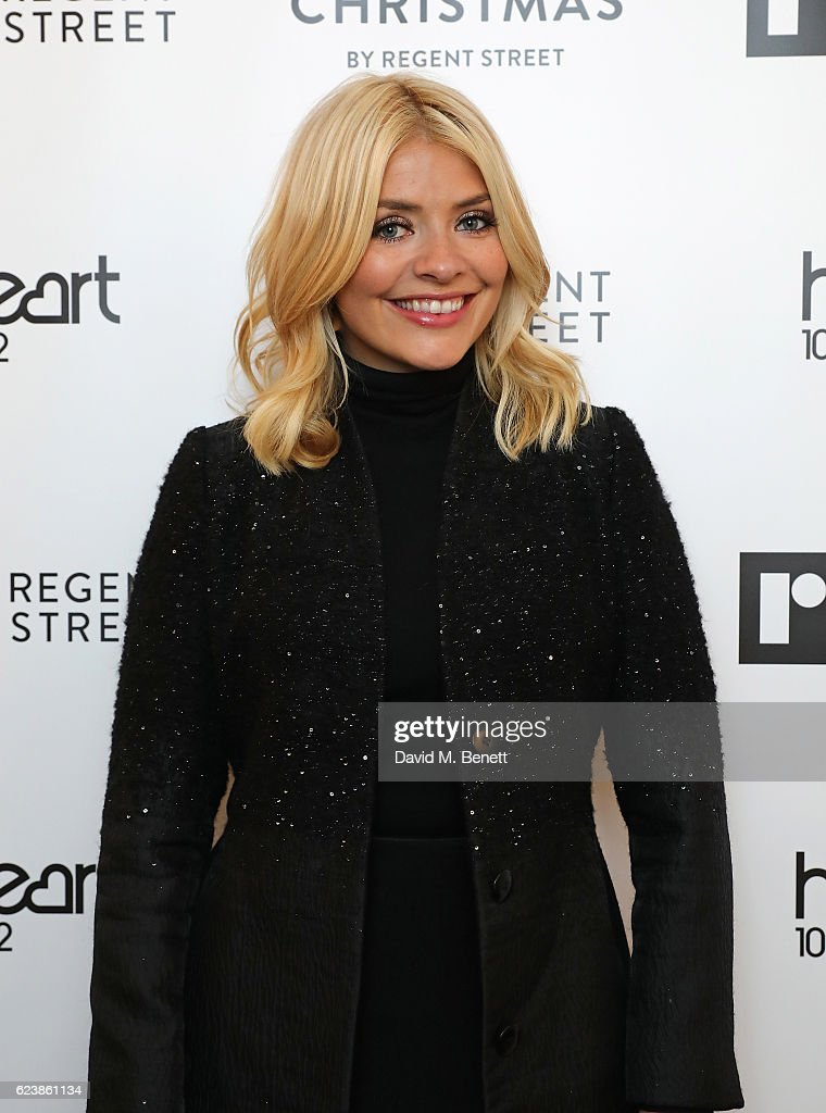 Holly Willoughby Switches On The Regent Street Christmas Lights 2016
