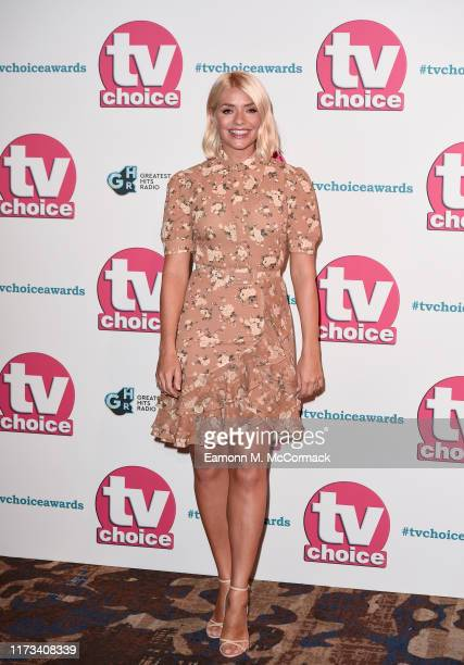 Holly Willoughby attends The TV Choice Awards 2019 at Hilton Park Lane on September 09, 2019 in London, England.