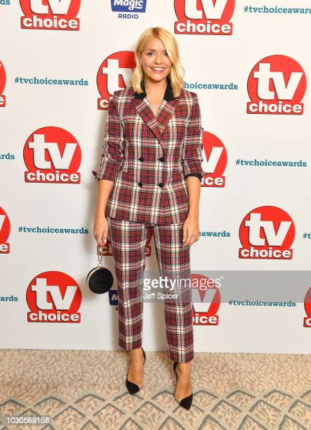 Holly Willoughby attends the TV Choice Awards at The Dorchester on September 10 2018 in London England