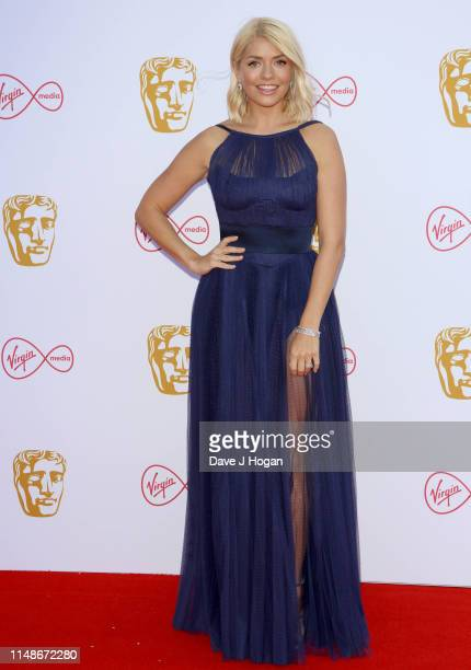 Holly Willoughby attends the Virgin Media British Academy Television Awards 2019 at The Royal Festival Hall on May 12 2019 in London England