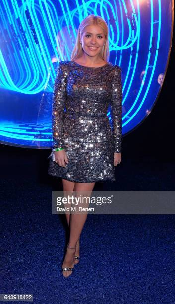 Holly Willoughby attends The Warner Music Ciroc Brit Awards After Party on February 22 2017 in London England