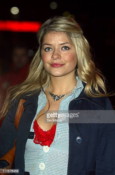 Holly Willoughby during 'Keeping Mum' London Premiere at Vue Leicester Square in London Great Britain