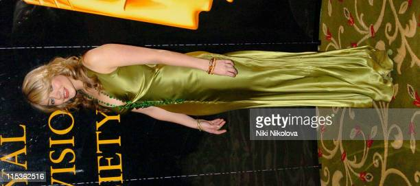 Holly Willoughby during RTS Programme Awards 2004 at Grosvenor House Hotel in London Great Britain