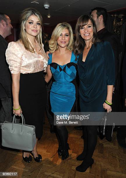Holly Willoughby Heidi Range and Tamzin Outhwaite attend the launch of Liam Gallaghers clothing line Pretty Green at the Gore Hotel on November 7...