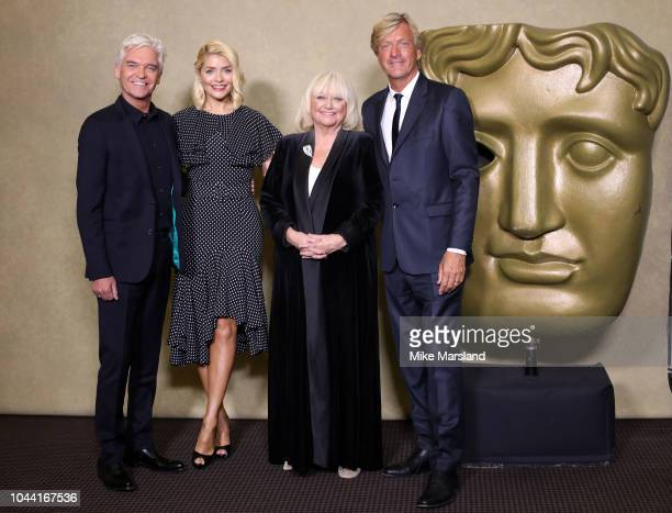 Holly Willoughby Phillip SchofieldÊRichard MadeleyÊandÊJudy Finnigan attend a BAFTA tribute evening to long running TV show This Morning at BAFTA on...