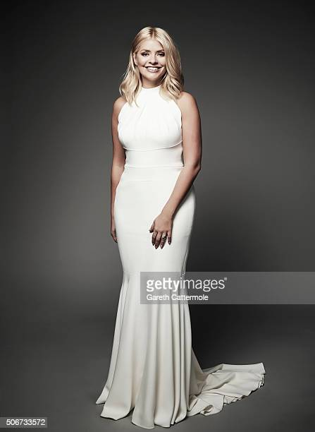Holly Willoughby poses in the Portrait Studio during the 21st National Television Awards at The O2 Arena on January 20 2016 in London England