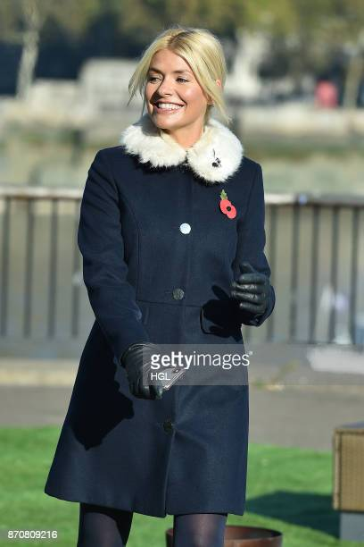Holly Willoughby seen at the ITV Studios on November 6 2017 in London England