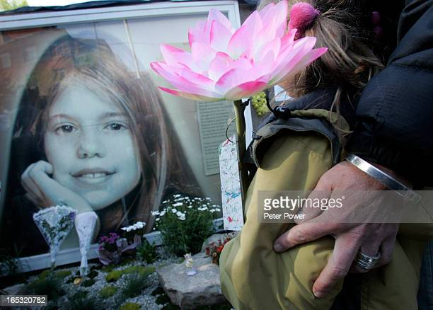 Neighbors family and friends of the Jones family showed up in the hundreds to Perth Park in Toronto for a 2nd annual vigil to mark the death of Holly...