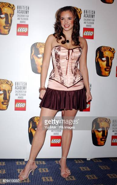 Hollyoaks actress Jodi Albert attends the British Academy Children's Film and Television Awards in association with the LEGO Company at the Park Lane...