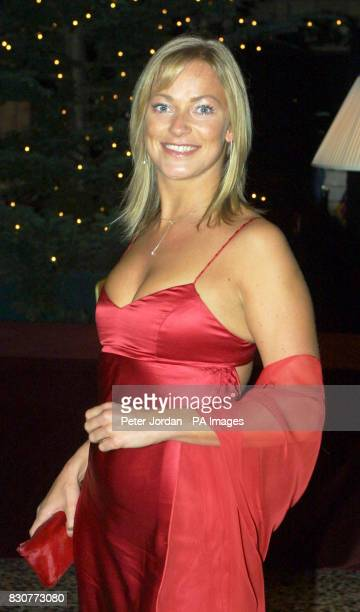 Hollyoaks actress Terri Dwyer at the Save The Children Festival of Trees at the Natural History Museum in London The Princess Royal was guest of...