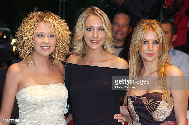 Hollyoaks' Stars Attend The 2003 'Tv Quick Awards' At The Dorchester In London