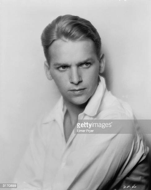Hollywood actor Douglas Fairbanks Jnr the son of swashbuckling star Douglas Fairbanks